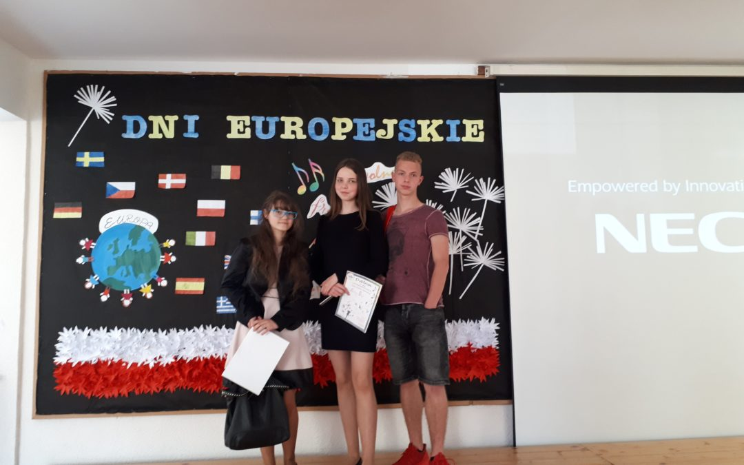VII Międzyszkolny Konkurs Poezji i Piosenki w Języku Obcym