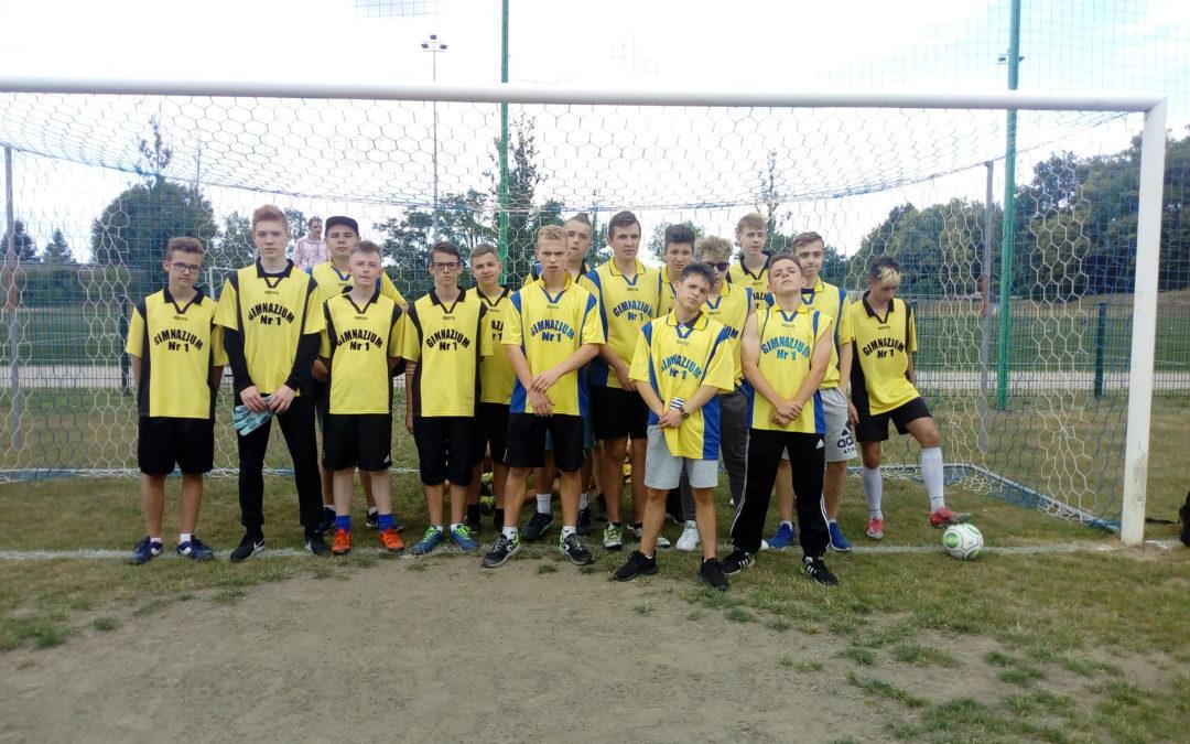 I Cykl Międzyszkolnych Turniejów Piłki Nożnej.